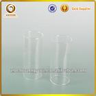borosilicate glass hookah pipe/boro 3.3 glass nargile/high boro bubbler use tube(L-075)