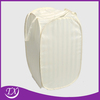 beige color polyester fabric hotel laundry hamper