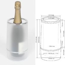 Wine Cooler wine rack wine opener acrylic plastic factory ice tongs ice bucket