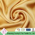 cor de ouro de chiffon de seda tecido tingido planície