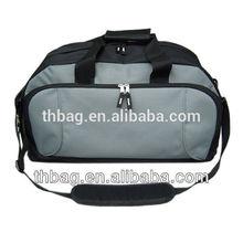 fashionl stripe cotton canvas duffel bag