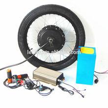 600-1000rmp/min 50H Hub motor 72v 5000w electric bike kit