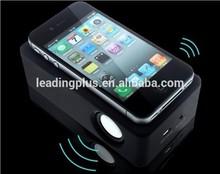 OEM New invented Wireless Dynamic Amplifying Induction Portable Speaker for iPhone/ Gift Speaker, portable speaker