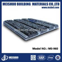 High loading aluminium carpet with 100% pp insert
