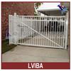 white aluminium fence gate and aluminum farm gates