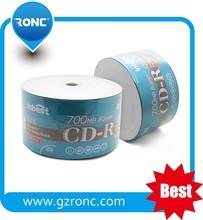Best quality CD-r blank 80min 700MB memory 52X recording speed Blank CD-R