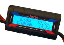 150A LCD battery Balance Watt Meter Power voltage capacity & tester solar / wind