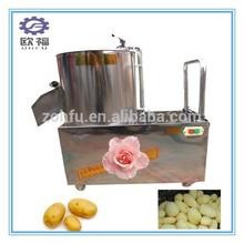 potato peeling and cutting machine/potato carrot peeling machine/sweet potato washing machine