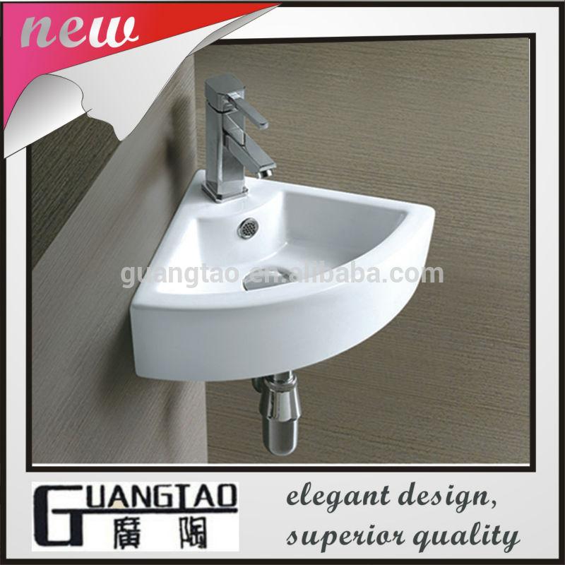 Lavabos Para Baño Esquina: de abanico de diseño de baño pequeño cerámica para lavabo esquina