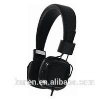 Kanen flat cable square stdio headphone with mircophone