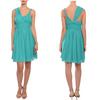 2014 newest ladies chiffon elegant knee length chiffon cocktail dresses