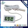 Digital de temperatura e umidade metros tl8015a- branco