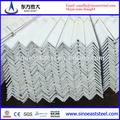 de alta calidad de acero galvanizado de hierro ángulo de tamaños y precios