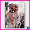 Moderna más nueva del diseño caliente de la venta africano de la amistad imagen de arte
