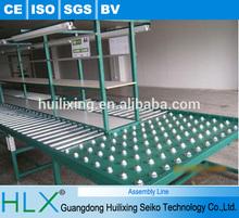 Semi-automatic assembly line