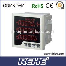 multimeter power energy harmonic cos multiple electriclty multimeter digital RH-3D3
