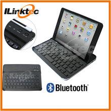 Hot Stand Aluminum Bluetooth Keyboard for iPad Mini