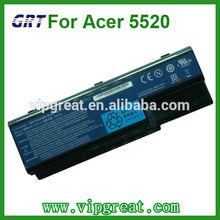 For ACER Aspire 5520 5230 5235 laptop battery 8cells Black