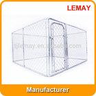 10'x10'x6' Large galvanized dog kennel cage(Alibaba China)
