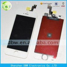 100% Original New LCD Touch Screen Display Digitizer Assembly White / Black Color For Apple iphone 5 s 5S