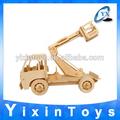 2014 venda quente inteligente caminhão de brinquedo de madeira