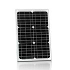 30W18v mono panels solar kit for 12v LED street flash light, laptop, mobile phone