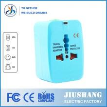 JS-931 Through the CE FCC ROHS certification universal travel plug world travel plug travel adapter plug korea