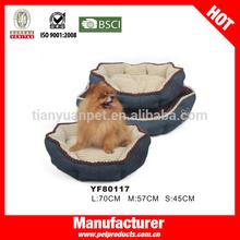 Bed cushion pet bed cushion