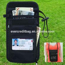 RFID Neck Stash Pouch Travel Holder Passport Id Wallet Bag