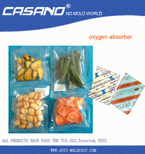 oxygen absorber for foods long-term storage