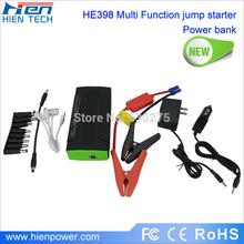 Multi-function car jump starter emergency jump starter with 12V/19V output