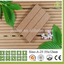 High slip resistance WPC decking/composite solid wood decking/water resistance wood plastic flooring