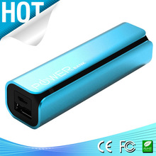 Hot selling aluminum case power bank 2600 mAh samsung battery cell