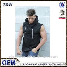 Custom Sleeveless bodybuilding Hoodie, gym hoodie, fitness hoody