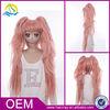 New product kanekalon japanese customizable pink wig cosplay