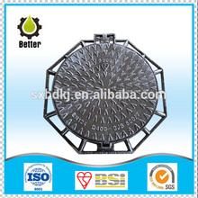 cast iron manhole cover price D400 600dia EN124