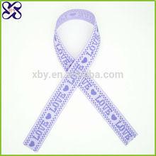 Decorative Cheap character printed grosgrain ribbon