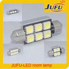 12v 5050 chip car led interior light lamp canbus led car room/dome/roof/festoon/reading lighting lamp 31mm 36mm 39mm 41mm