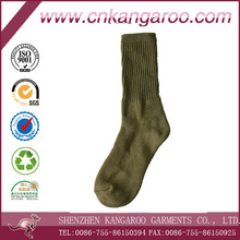 Wholesale high quality 30% wool 70% cotton military boot man sock