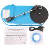 Portable Vintage Turntable record player 33RPM LP Vinyl to MP3 WAV CD Converter record player
