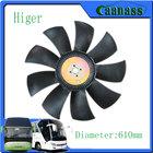 KLQ6119TQ Higer Spare Parts auto fan assy bus engine parts