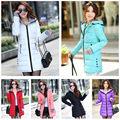 sonbahar kış kadın yastıklı parka kapüşonlu mont fermuarlı cepleri uzun ince ceket sıcak giyim kadın kaban g0684