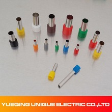 E2518 300V #14A.W.G colorful china factory directly CE ROHS terminal vinyl wire end caps