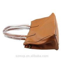 genuine lady leather washed woman handbag,lady shoulder bag original design for famous brand