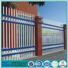 Sale Security Ornamental Powder Coated Galvanized Steel Fence