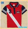 (C4946) red 3-8Y nova kids polo shirts children cotton wear baby boys sport t shirt
