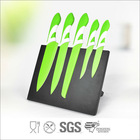 Teflon spray coating kitchen knife set