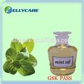 100% natural de aceite de menta con pasado gsk