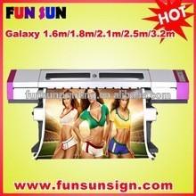 High quality large format printer/ eco solvent plotter/1440dpi printer (1.6m/1.8m/2.1m/2.5m/3.2m available , dx5/dx7 printhead )