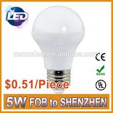 Modern Life 5w Led Bulb Low Cost 0.51/piece Led Buld